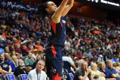WNBA - Connecticut Sun 84 vs. Washington Mystics 69 (45)