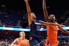 WNBA - Connecticut Sun 84 vs. Washington Mystics 69 (47)