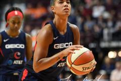 WNBA - Connecticut Sun 84 vs. Washington Mystics 69 (49)