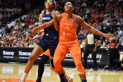 WNBA - Connecticut Sun 84 vs. Washington Mystics 69 (50)