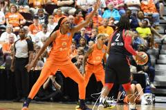 WNBA - Connecticut Sun 84 vs. Washington Mystics 69 (59)