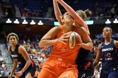 WNBA - Connecticut Sun 84 vs. Washington Mystics 69 (63)