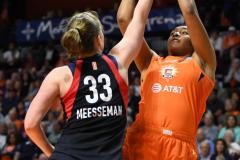 WNBA - Connecticut Sun 84 vs. Washington Mystics 69 (67)