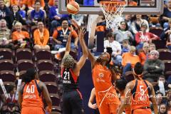 WNBA - Connecticut Sun 84 vs. Washington Mystics 69 (82)