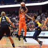 WNBA - Connecticut Sun 86 vs. Indiana Fever 77 (44)