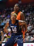WNBA - Connecticut Sun 86 vs. Indiana Fever 77 (55)