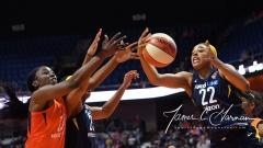 WNBA - Connecticut Sun 86 vs. Indiana Fever 77 (62)