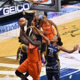 WNBA Connecticut Sun 89 vs. Indiana Fever 73 (24)