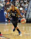 WNBA Connecticut Sun 89 vs. Indiana Fever 73 (49)