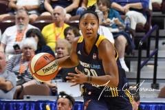WNBA Connecticut Sun 89 vs. Indiana Fever 73 (50)