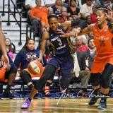 WNBA Connecticut Sun 89 vs. Indiana Fever 73 (58)