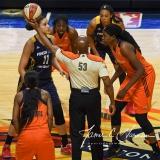 WNBA Connecticut Sun 89 vs. Indiana Fever 73 (6)