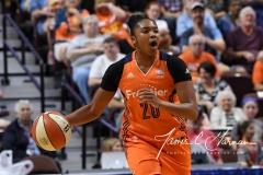 WNBA Connecticut Sun 89 vs. Indiana Fever 73 (62)