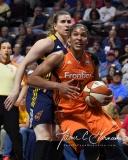 WNBA Connecticut Sun 89 vs. Indiana Fever 73 (64)