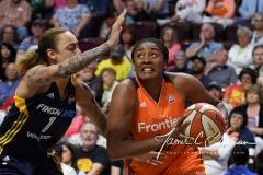 WNBA Connecticut Sun 89 vs. Indiana Fever 73 (65)