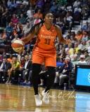 WNBA Connecticut Sun 89 vs. Indiana Fever 73 (67)