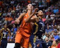 WNBA Connecticut Sun 89 vs. Indiana Fever 73 (68)