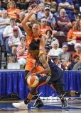 WNBA Connecticut Sun 89 vs. Indiana Fever 73 (70)