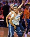 WNBA Connecticut Sun 89 vs. Indiana Fever 73 (75)