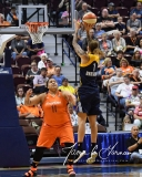 WNBA Connecticut Sun 89 vs. Indiana Fever 73 (79)