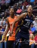 WNBA Connecticut Sun 89 vs. Indiana Fever 73 (80)