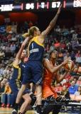 WNBA Connecticut Sun 89 vs. Indiana Fever 73 (81)