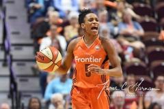 WNBA Connecticut Sun 89 vs. Indiana Fever 73 (82)