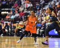 WNBA Connecticut Sun 89 vs. Indiana Fever 73 (83)