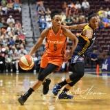 WNBA Connecticut Sun 89 vs. Indiana Fever 73 (85)