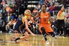 WNBA Connecticut Sun 89 vs. Indiana Fever 73 (87)