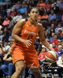WNBA Connecticut Sun 89 vs. Indiana Fever 73 (90)