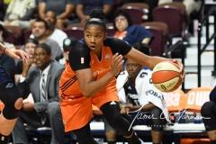 WNBA Connecticut Sun 89 vs. Indiana Fever 73 (91)