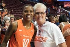 WNBA - Connecticut Sun 89 vs. Los Angeles Sparks 86 (105)
