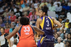 WNBA - Connecticut Sun 89 vs. Los Angeles Sparks 86 (36)
