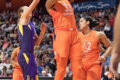 WNBA - Connecticut Sun 89 vs. Los Angeles Sparks 86 (37)