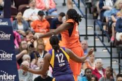 WNBA - Connecticut Sun 89 vs. Los Angeles Sparks 86 (42)