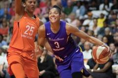 WNBA - Connecticut Sun 89 vs. Los Angeles Sparks 86 (45)