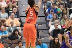 WNBA - Connecticut Sun 89 vs. Los Angeles Sparks 86 (53)