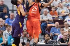 WNBA - Connecticut Sun 89 vs. Los Angeles Sparks 86 (55)