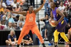 WNBA - Connecticut Sun 89 vs. Los Angeles Sparks 86 (60)