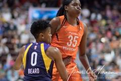 WNBA - Connecticut Sun 89 vs. Los Angeles Sparks 86 (64)
