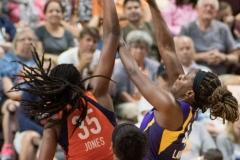 WNBA - Connecticut Sun 89 vs. Los Angeles Sparks 86 (70)