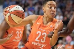 WNBA - Connecticut Sun 89 vs. Los Angeles Sparks 86 (72)