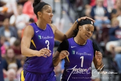 WNBA - Connecticut Sun 89 vs. Los Angeles Sparks 86 (79)
