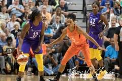 WNBA - Connecticut Sun 89 vs. Los Angeles Sparks 86 (80)