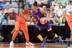 WNBA - Connecticut Sun 89 vs. Los Angeles Sparks 86 (82)