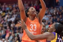 WNBA - Connecticut Sun 89 vs. Los Angeles Sparks 86 (84)