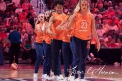 WNBA - Connecticut Sun 89 vs. Los Angeles Sparks 86 (86)