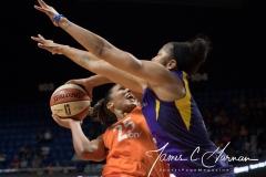 WNBA - Connecticut Sun 89 vs. Los Angeles Sparks 86 (90)