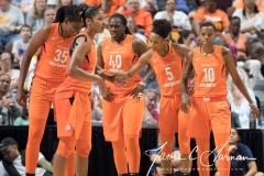 WNBA - Connecticut Sun 89 vs. Los Angeles Sparks 86 (94)